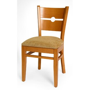 Benkel Seating Coinback Side Chair in Chenille - Wheat (Set of 2)