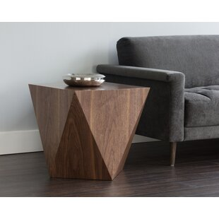 Read Reviews Dionara End Table by Comm Office