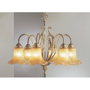Classic Lighting Venezia 6-Light Shaded Chandelier