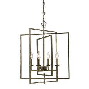 Freya 4-Light Lantern Chandelier by Gracie Oaks