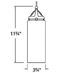 Madison Monopoint 1-Light LED Cylinder Pendant by WAC Lighting