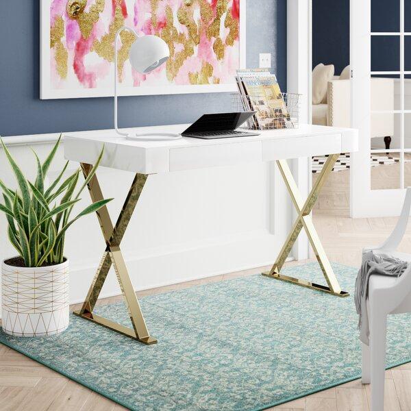 Kerlin 2 Drawer Office Desk by Everly Quinn