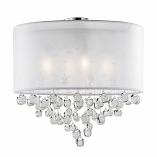 Ophelia 4-Light Semi Flush Mount by Radionic Hi Tech