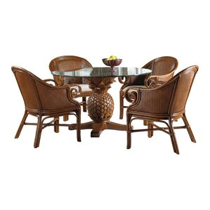 Cypress 5 Piece Dining Set by Bay Isle Home