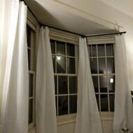 Red Barrel Studio Cavett Bay Window Curtain Rod Set Reviews