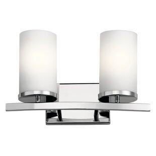 Chelsie 2-Light Vanity Light by Zipcode Design