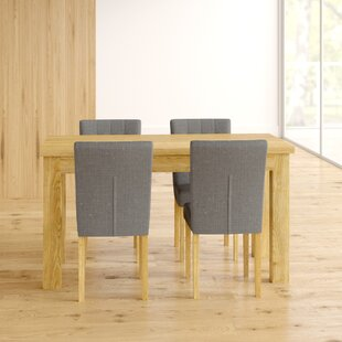 Deacon Dining Set With 4 Chairs By Ebern Designs