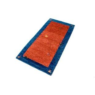 Rossett Hand Hooked Wool Red Indoor/Outdoor Rug Image