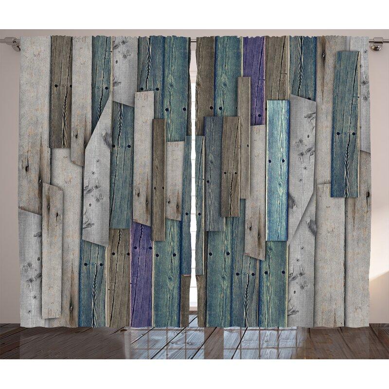 union rustic ayala wooden blue grey grunge rustic planks barn house