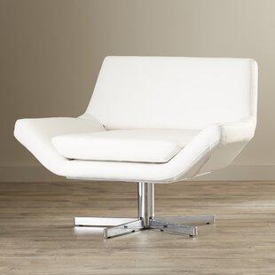 Wade Logan Matt Swivel Lounge Chair