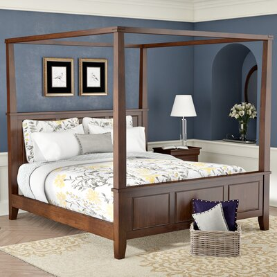Three Posts Borden Canopy Bed