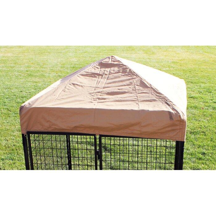 K9 Kennel Ultimate Heavy Duty Yard Kennel Side Cover