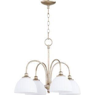 Willa Arlo Interiors Dian 4-Light Shaded Chandelier