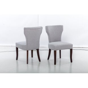 Benno Upholstered Dining Chair (Set of 2) Alcott Hill