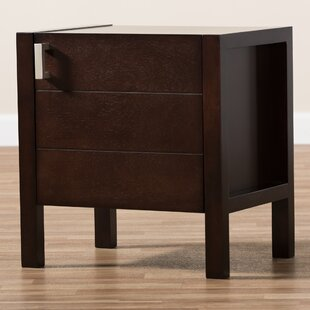 Matz Wooden Drawer Nightstand