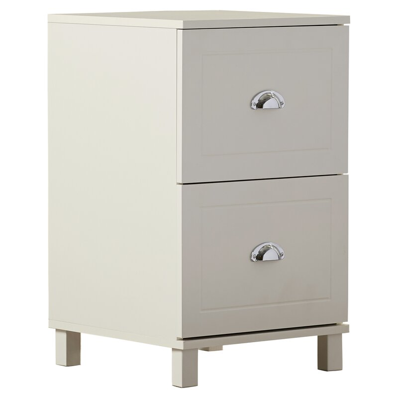 Genial Orange City 2 Drawer Filing Cabinet