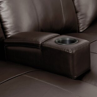 Ebern Designs Modern Removable Leather Home Theater Individual Seating