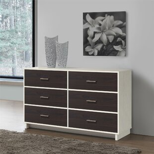 Chicopee 6 Drawer Double Dresser