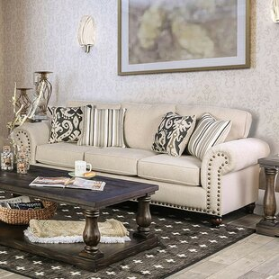 Shop Fella Leather Sofa by Darby Home Co
