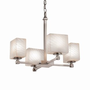 Luzerne 4-Light Shaded Chandelier by Brayden Studio