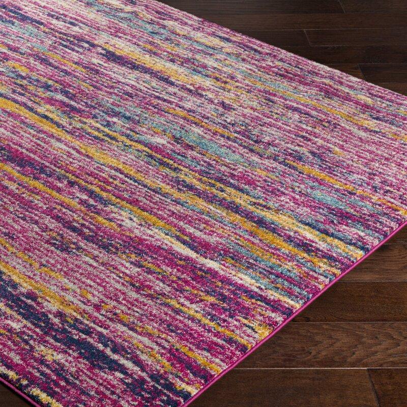 Andover Purple Area Rug