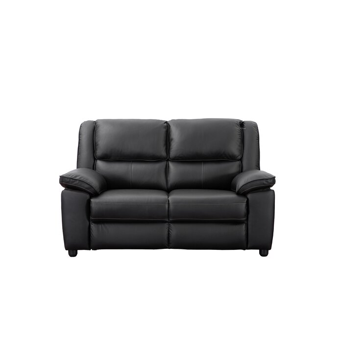 Swell Watkin Genuine Leather 2 Seater Sofa Ncnpc Chair Design For Home Ncnpcorg