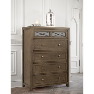 Loon Peak Ruddy 5 Drawer Chest