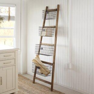 Read Reviews Vertical Wooden 6 ft Blanket Ladder ByGracie Oaks