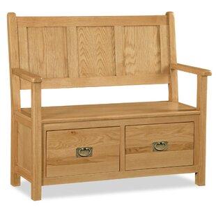 Wood Storage Hallway Bench By Gracie Oaks