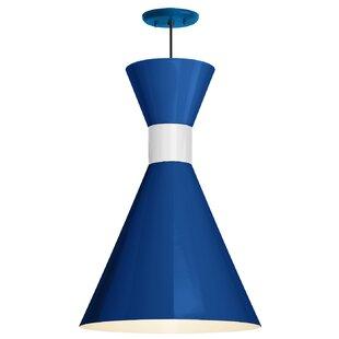 Harjo 1-Light Cone Pendant by Ivy Bronx