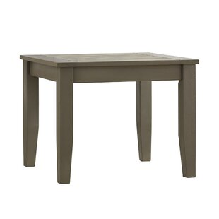 Brook Hollow Wood Side Table by Three Posts Coupon