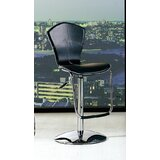 Swivel Adjustable Height Bar Stool (Set of 2) by At Home USA