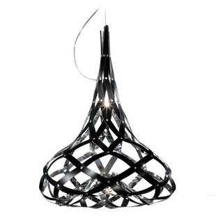 Super Morgana 1-Light Teardrop Pendant by ZANEEN design