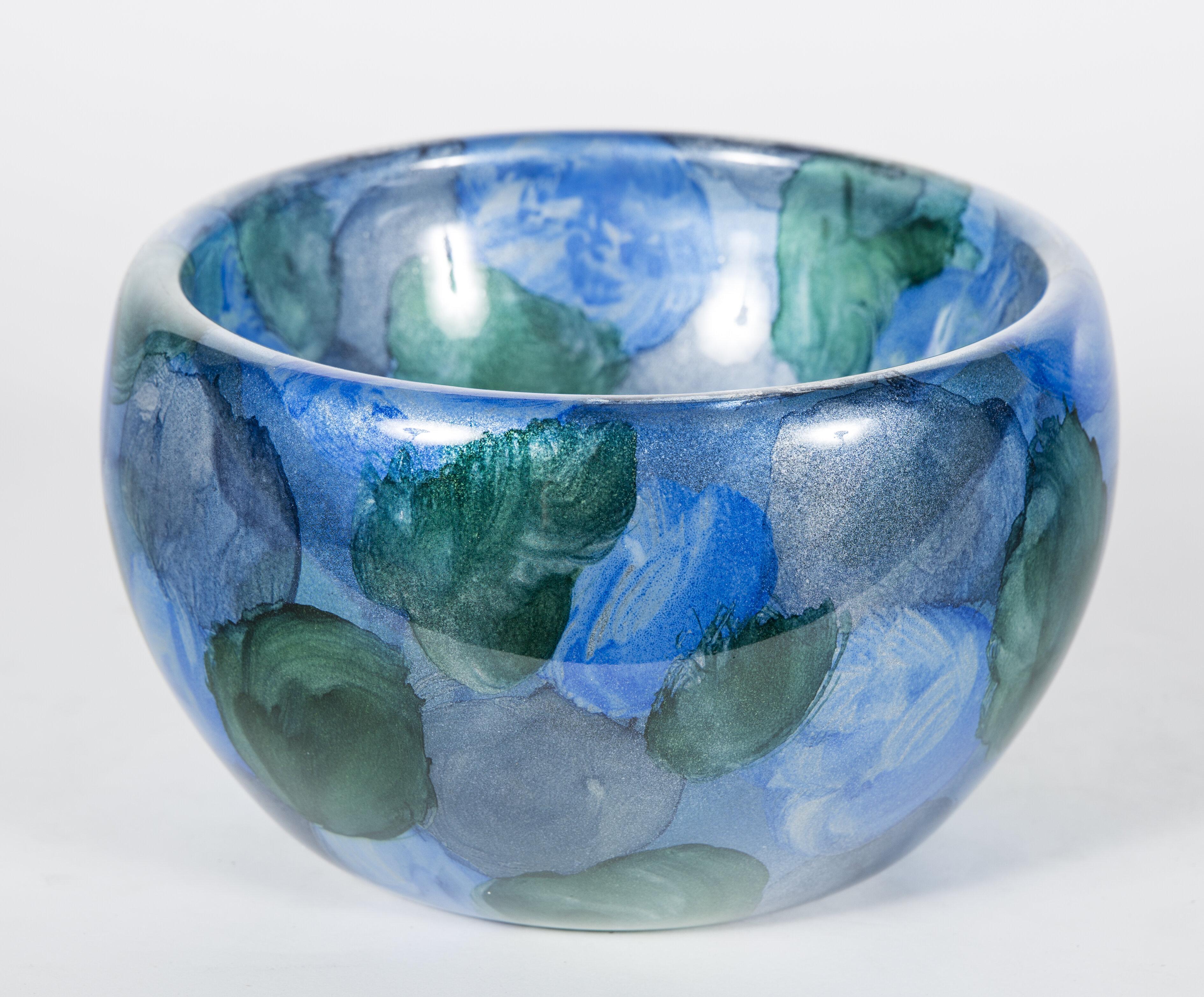 Prima Design Source Glass Decorative Bowl In Gold Black Perigold