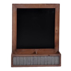 Storage Compartment Wall Mounted Chalkboard