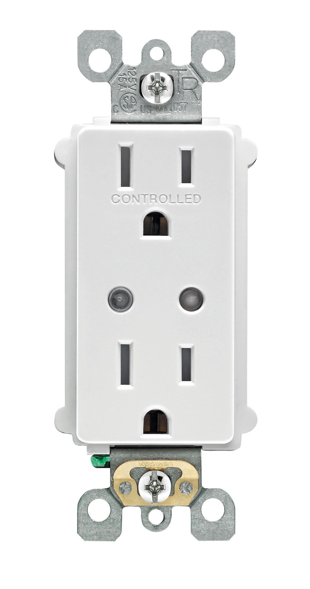 Leviton led night light outlet
