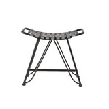 Kurland Industrial Iron Woven 19 Bar Stool by Williston Forge