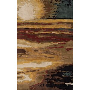 Jackson Hole Hand-Tufted Brown Area Rug