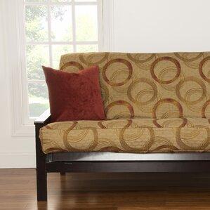 Armenta Box Cushion Futon Slipcover by Latit..