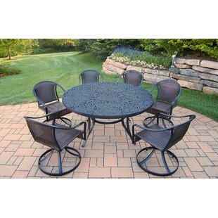 Oakland Living Tuscany 7 Piece Dining Set