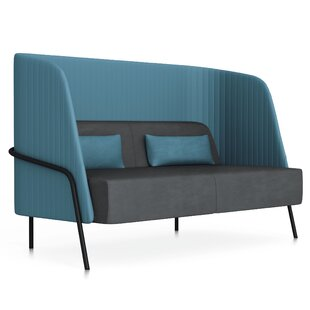Noldor Low-Back Loveseat by Segis U.S.A