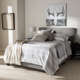 Wrought Studio Fedor Fabric Upholstered Panel Bed