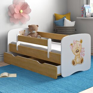 Caswell Convertible Toddler Bed With Drawers By Zipcode Design