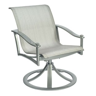 Nob Hill Rocking Swivel Patio Dining Chair