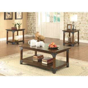 Mccrady Amazingly Craftsman Designed 3 Piece Coffee Table Set by Williston Forge