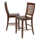 Merrick 24 Bar Stool (Set of 2) by Rosalind Wheeler