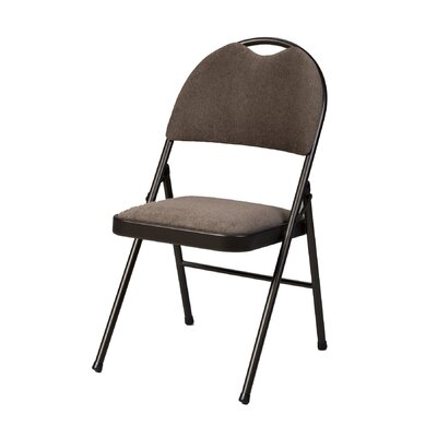 Double Fabric Padded Folding Chair MECO Corporation