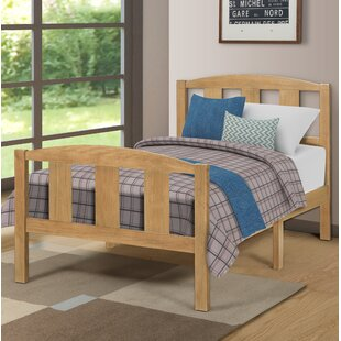 Hesse Solid Twin Platform Bed by Zoomie Kids