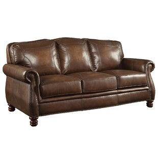 Linglestown Leather Sofa b..