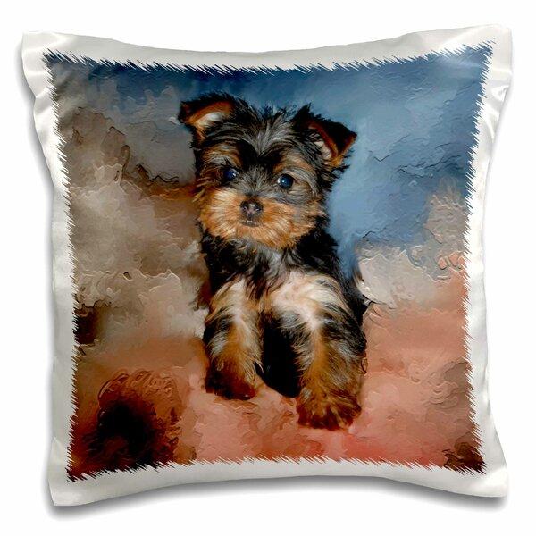 Yorkie Pillow Wayfair